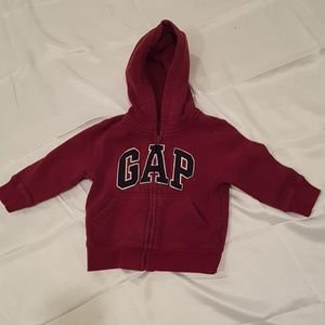 2/$20 Gap 2T red hoodies unisex